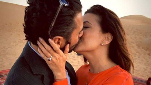 La pareja lleva tres años de feliz relación/Univisión