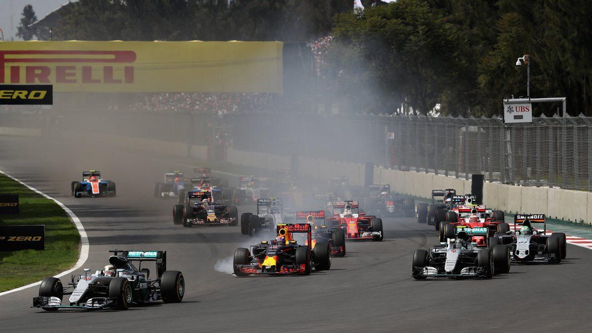 Lewis Hamilton se hizo con la victoria en el GP de México. Alonso y Sainz, fuera de los puntos (Getty)