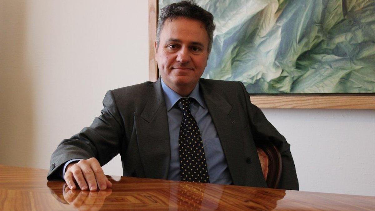 El broker Michel Santi, fundador de Art Trading & Finance.