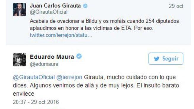 Un diputado de Podemos amenaza a Girauta: «Cuidado con lo que dices a quienes sabemos más de ETA»