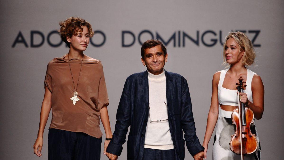 Adolfo Dominguez en Cibeles en 2011 (Foto: Getty)