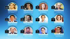 Algunos de los nuevos rostros que podrían incorporarse al Gobierno de Rajoy.