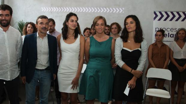 Los integrantes de Proceso Adelante encabezados por Rita Maestre. (Foto: PA)