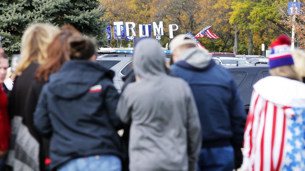 Seguidores de Donald Trump (Foto: AFP)