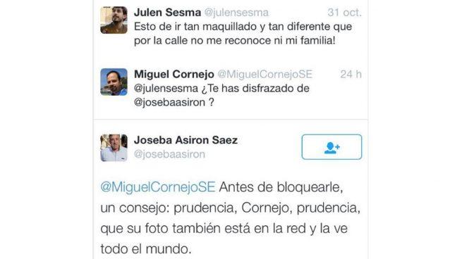 El alcalde proetarra de Pamplona amenaza a un ciudadano en las redes sociales