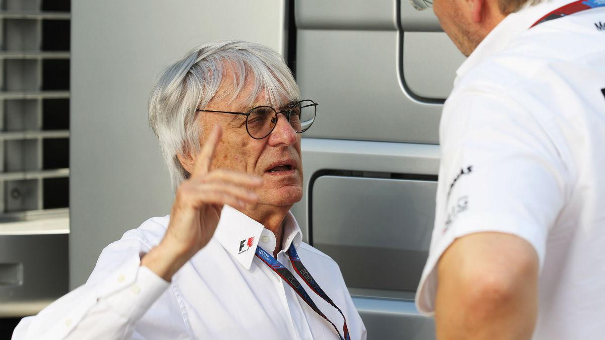 Las horas de Bernie Ecclestone al frente de la Fórmula 1 podrían estar contadas. (Getty)