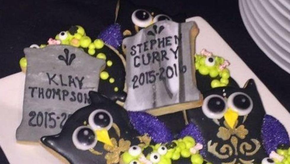 Las galletas de LeBron con la muerte de Curry revolucionaron las redes.