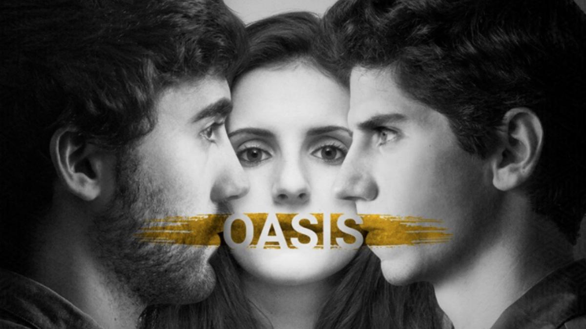 Pablo Manjón, Ana Artajo y Ion Martikorena son los protagonistas de 'Oasis', la primera obra de teatro de la compañía navarra 'Teatro a Quemarropa'.