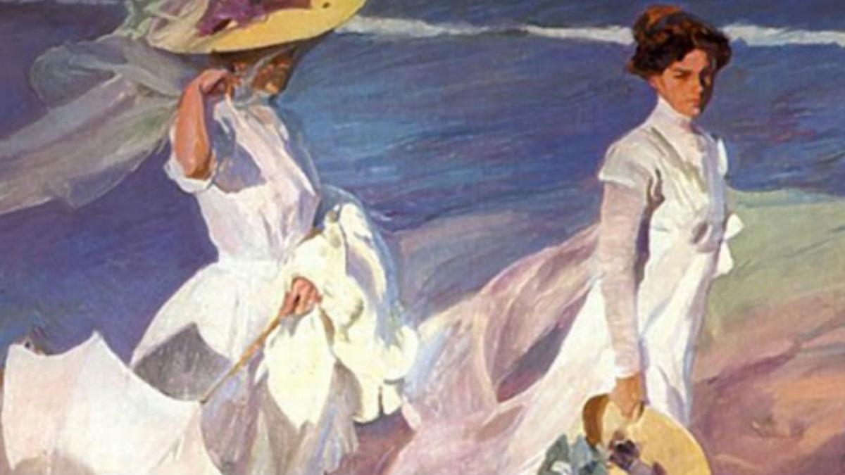 Una de las obras representativas de la colección del pintor español Joaquín Sorolla.