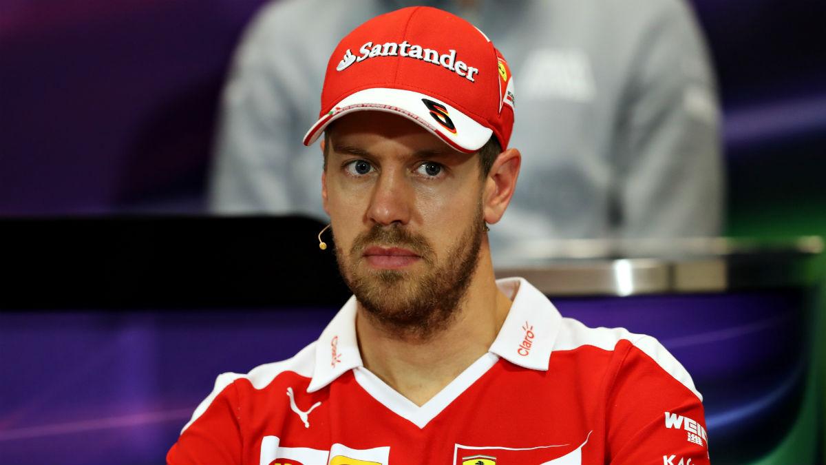 Vettel está siendo dura y merecidamente criticado por su actitud durante el Gran Premio de México de Fórmula 1. (Getty)