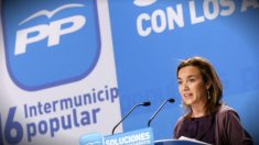 Cuca Gamarra, dirigente del PP.