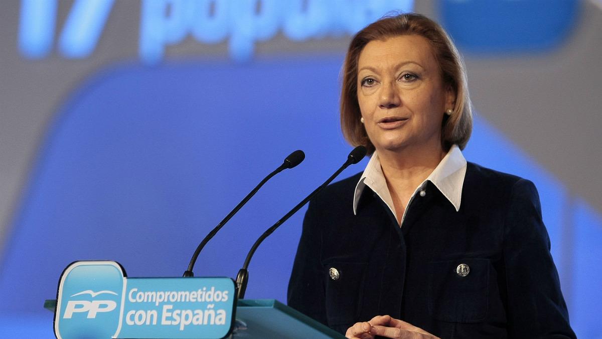 Luisa Fernanda Rudi. (Foto: EFE)