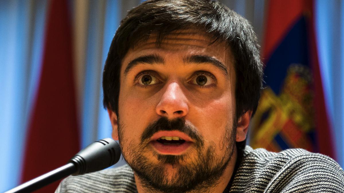 Primer plano de Ramón Espinar. (Foto: JP)