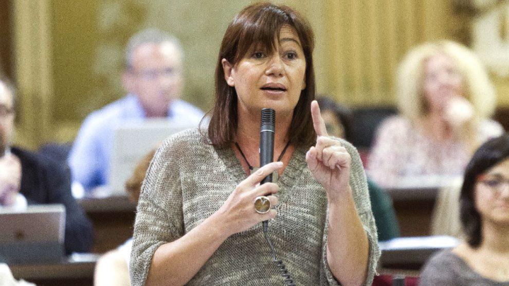 La presidenta del Govern balear, Francina Armengol. (Foto: EFE)