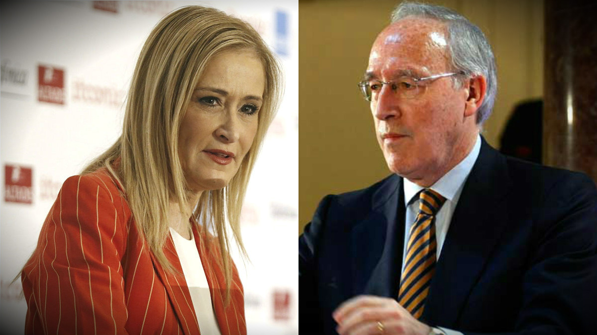 Cristina Cifuentes y Manuel Pizarro.