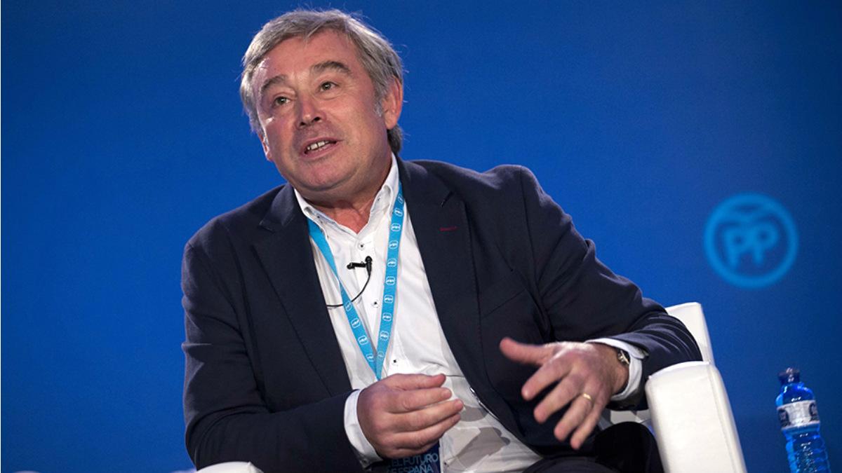 José Manuel Barreiro, actual portavoz del PP en el Senado.
