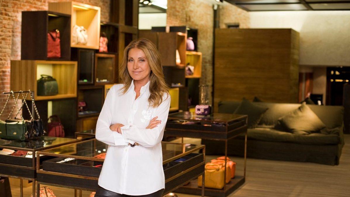 La diseñadora Purificación García, marca de Textil Lonia, en una de sus tiendas. (Foto: Purificación García)