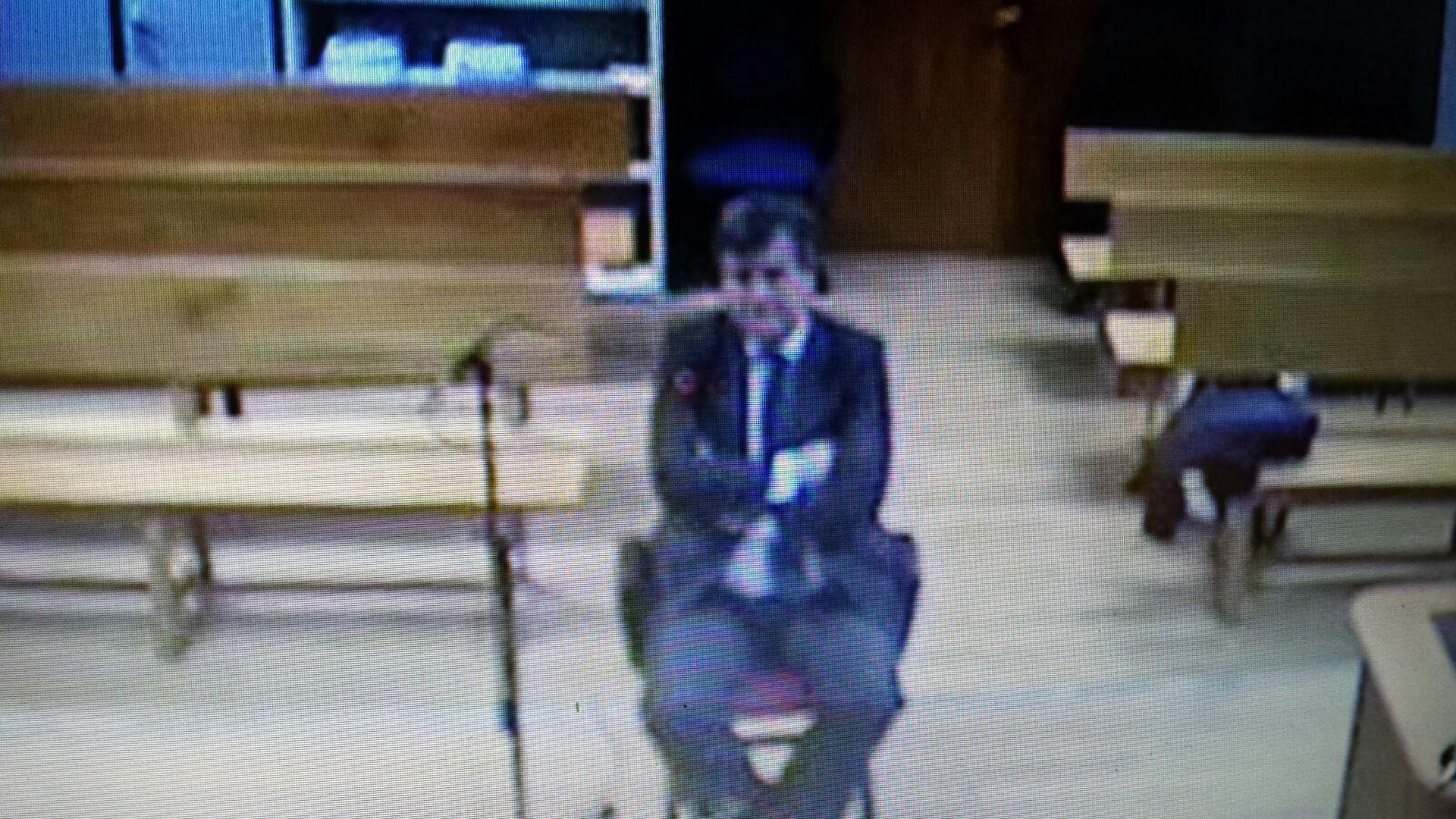 Miguel Cardenal, sentado en el banquillo del Juzgado de Instrucción Número 36 de Madrid.
