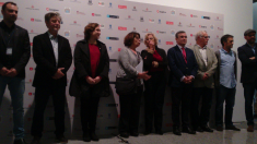 Alcaldes del cambio este viernes en Madrid. (Foto: OKDIARIO)