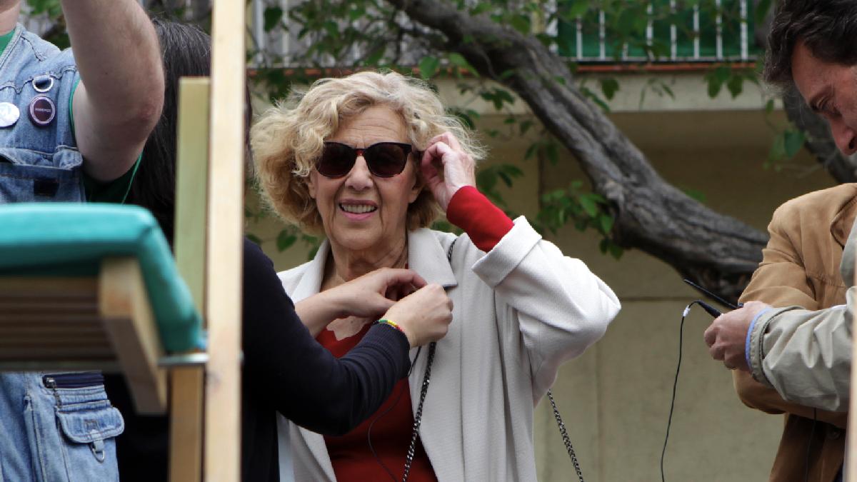 La alcaldesa Manuela Carmena en imagen de archivo. (Foto: AM)