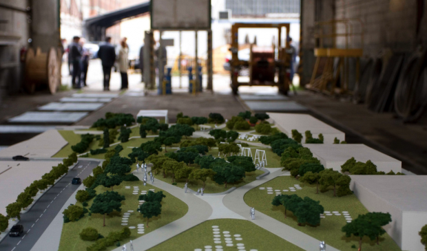 Maqueta del proyecto retocado por la Comunidad de Madrid. (Foto: CAM)