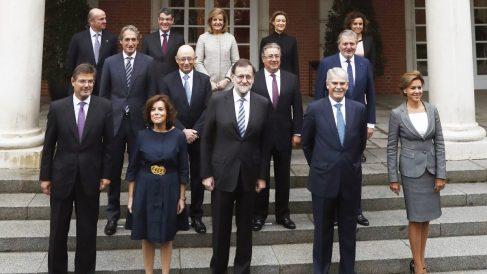 El Consejo de Ministros en Moncloa. (Foto: EFE)