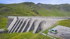 Central hidroeléctrica de bombeo.