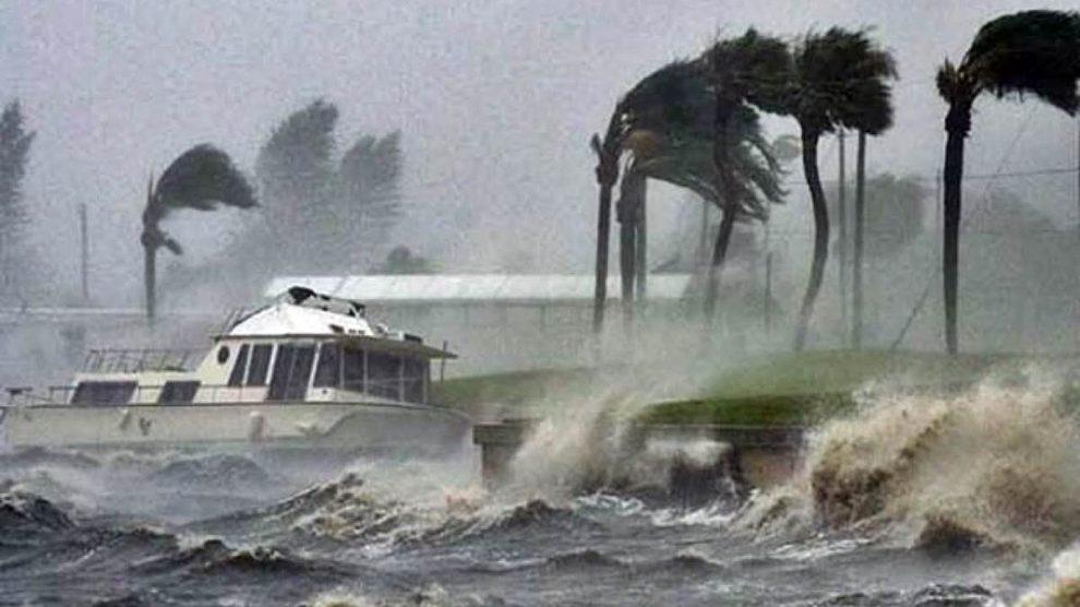 Imagen de archivo de un ciclón.