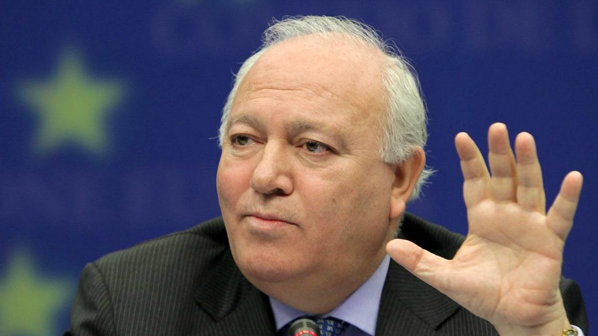 Miguel Ángel Moratinos, ex ministro de Asuntos Exteriores