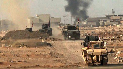 Fuerzas iraquíes entrando en Mosul (Foto: AFP).