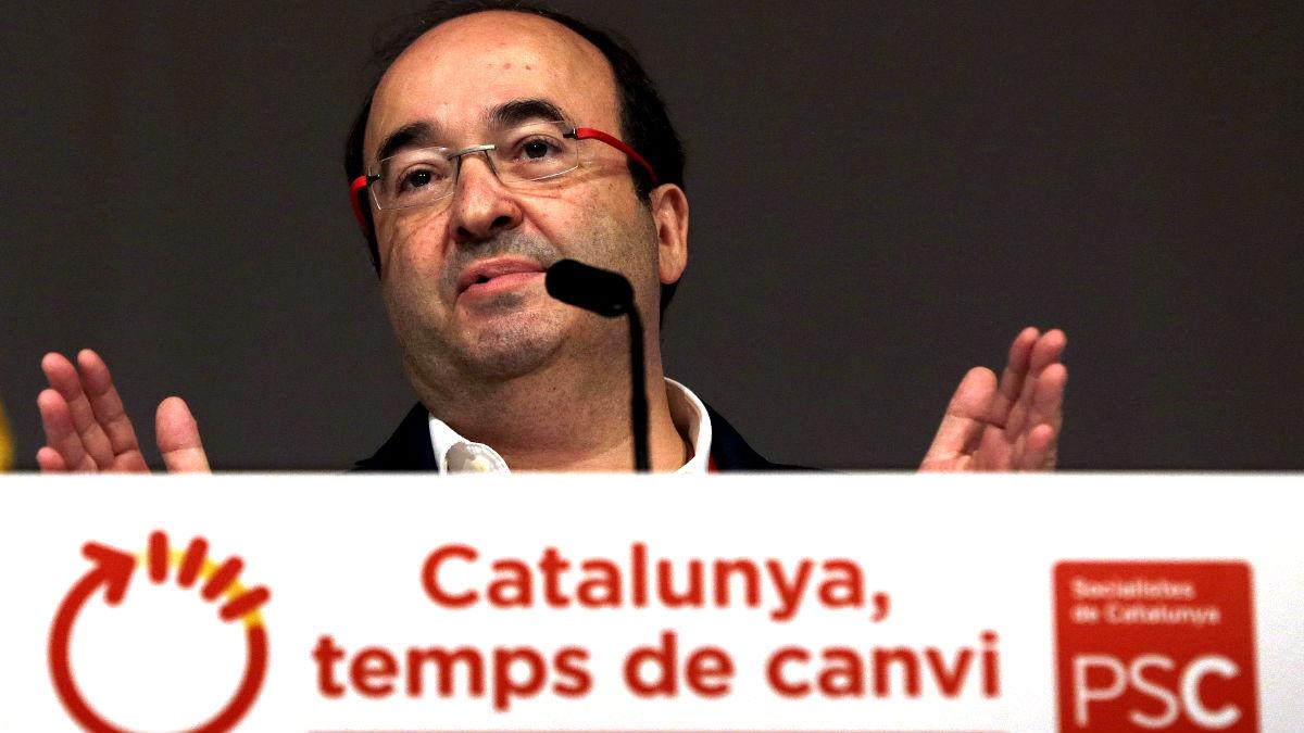 Miquel Iceta en el Congreso del PSC (Foto: Efe).