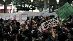 Manifestación antibotellón (Flickr).