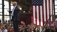 Donald Trump durante un mitin en su campaña por las presidenciales. (Foto: AFP)