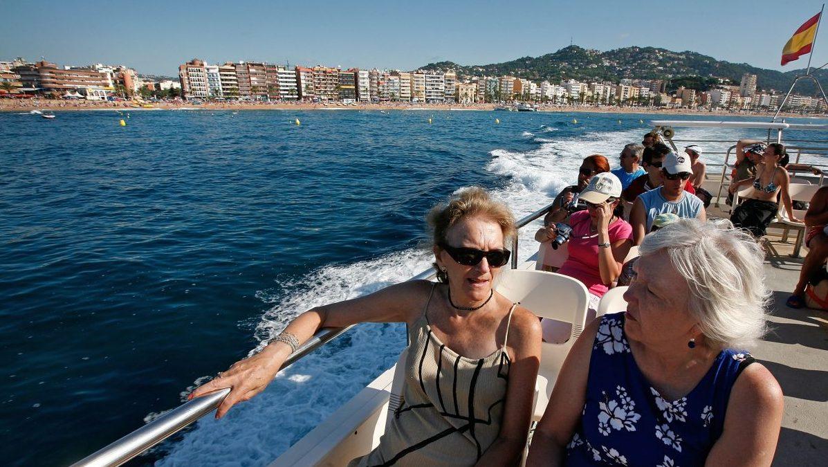 Turistas británicos en España (Foto: Getty)