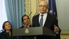 El ministro de Hacienda y Función Pública, Cristóbal Montoro. (Foto: EFE)