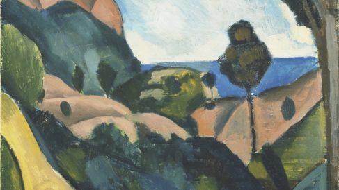 'Paisaje cercano a Cassis'. (André Derain, 1907)