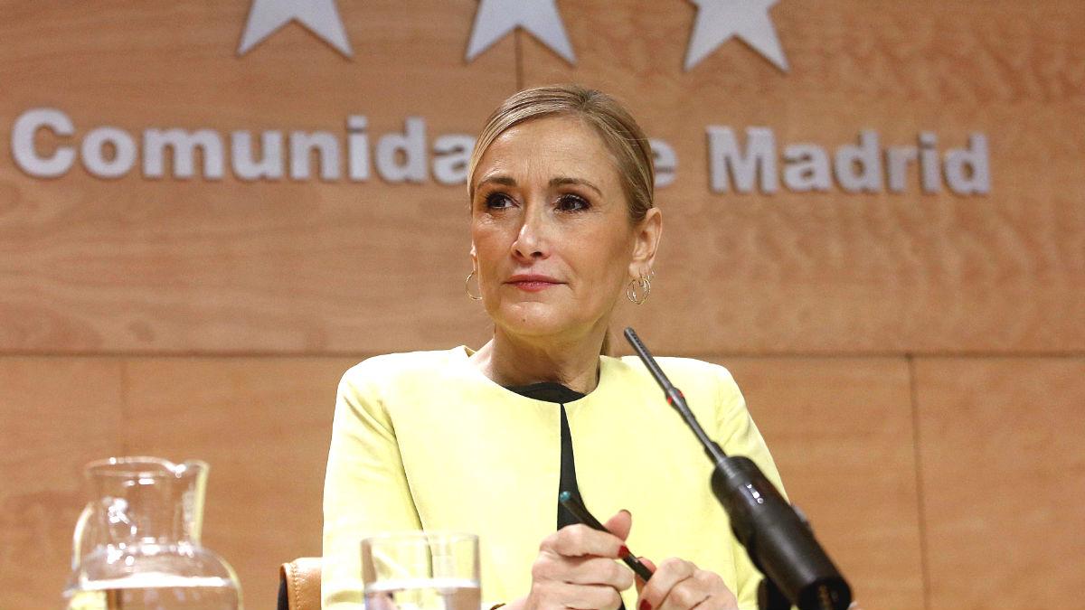 Cristina Cifuentes. (Foto: EFE)