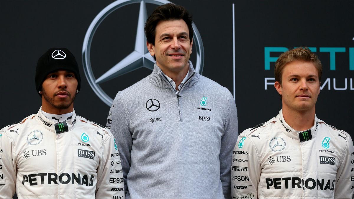 Toto Wolff afirma que Rosberg tiene el mundial en su mano, restando importancia a las consecuencias morales que tendría para Hamilton su posible derrota. (Getty)