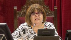 La ex presidenta del Parlamento balear, Xelo Huertas. (Foto: EFE)