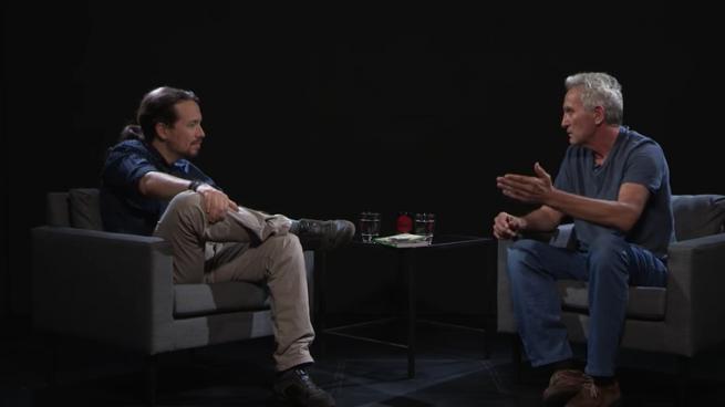 Iglesias y Cañamero, en una entrevista en 'La Tuerka'.