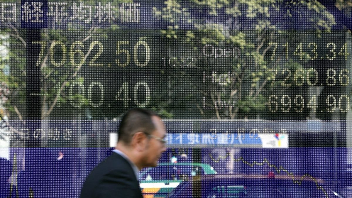 Bolsa de Tokio (Foto: Getty)