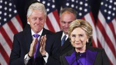 Bill y Hillary Clinton. (Foto: AFP)