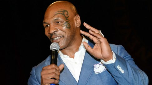 Mike Tyson. (Getty)