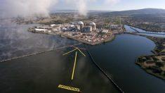 Los ecologistas de Greenpeace han señalado Almaraz como la próxima central nuclear «que debe cerrar». (Greenpeace)