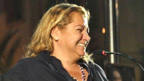La líder de Podemos en Canarias Meri Pita.