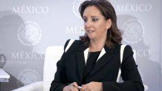 Claudia Ruiz Massieu Salinas, ministra de Exteriores de México. GETTYIMAGES