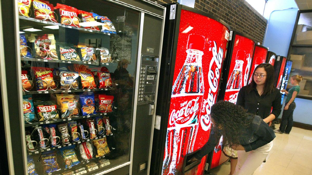 Máquinas expendedoras (Foto: Getty).