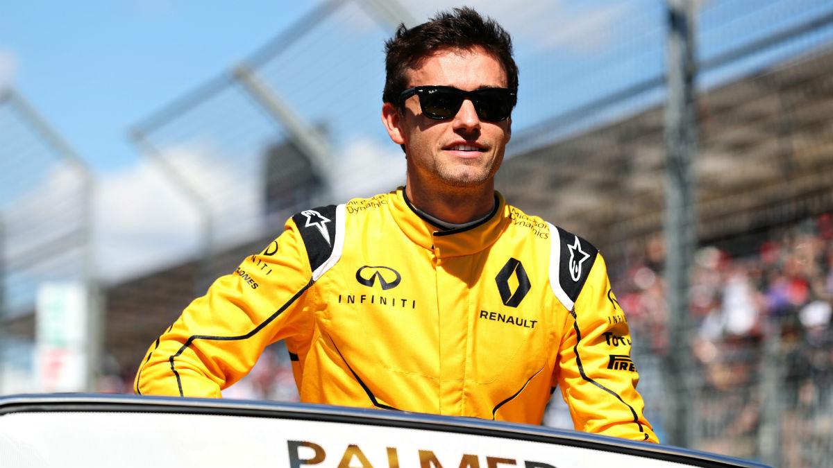 Renault ha renovado a Jolyon Palmer a pesar de haber conseguido tan solo un punto en todo el año. (Getty)