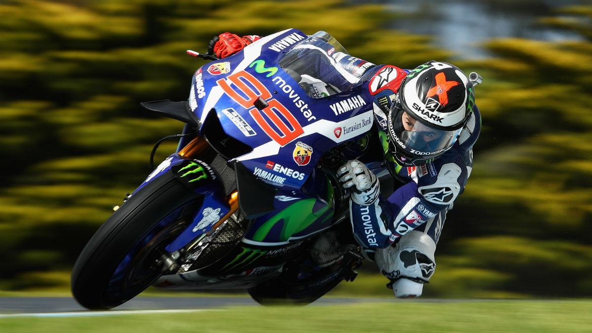 La historia de Jorge Lorenzo con Yamaha llega a su fin, por lo que el piloto ha querido despedirse de su equipo con una emotiva carta. (Getty)
