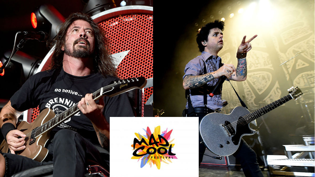Dave Grohl (Foo Fighters) y Billie Joe Armstrong (Green Day) serán los protagonistas de Mad Cool 2017. GETYYIMAGES